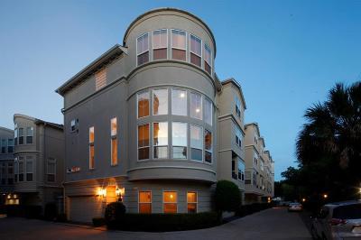 Houston Condo/Townhouse For Sale: 1515 Hyde Park Boulevard #38