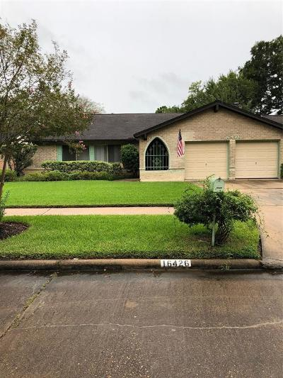 Houston TX Single Family Home For Sale: $239,900