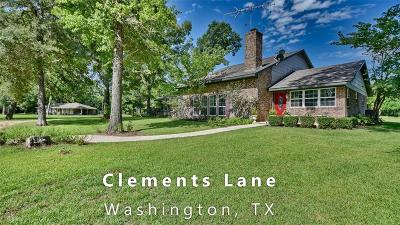 Washington County Country Home/Acreage For Sale: 19751 Clements