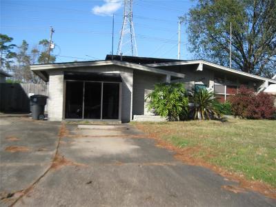Houston Single Family Home For Sale: 2406 Stonecrest Drive
