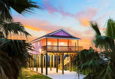 Galveston Single Family Home For Sale: 4114 Vista Road