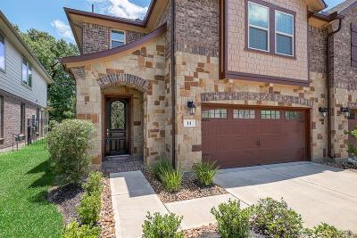 The Woodlands Condo/Townhouse For Sale: 14 Ancestry Stone Place