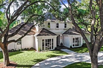 Houston Single Family Home For Sale: 519 Hunterwood Drive