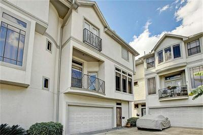 Montrose Condo/Townhouse For Sale: 4208 Stanford