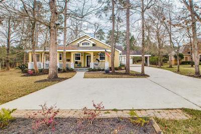 Montgomery Single Family Home For Sale: 384 Ridgelake Scenic Drive
