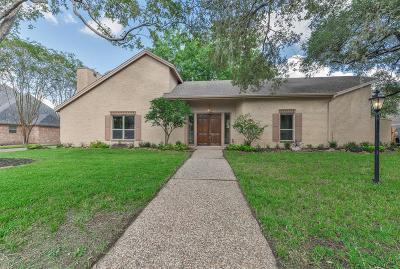 Houston Single Family Home For Sale: 731 Plainwood Drive