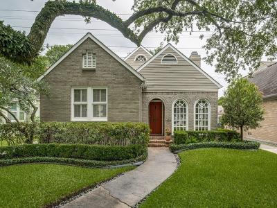 Houston Single Family Home For Sale: 1432 Vassar Street