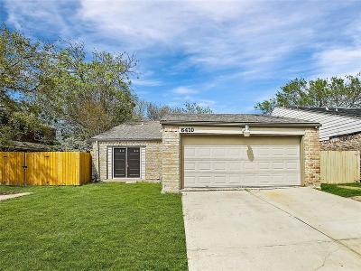 Houston Single Family Home For Sale: 6410 Quail Meadow Drive