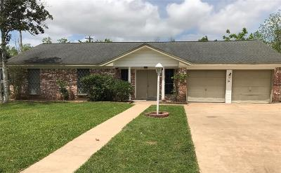 Alvin Single Family Home For Sale: 2608 Westfield Street