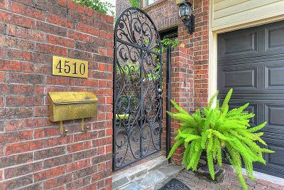 Houston Single Family Home For Sale: 4510 Mandell Street