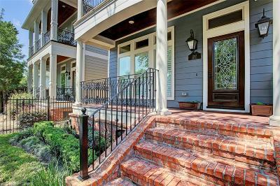 Houston Single Family Home For Sale: 1217 Waverly Street