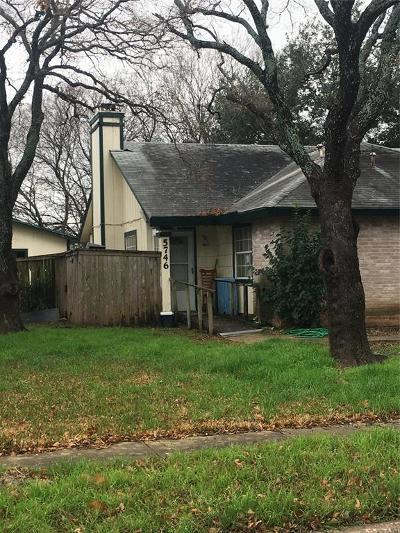 San Antonio Single Family Home For Sale: 5746 Ascham Drive