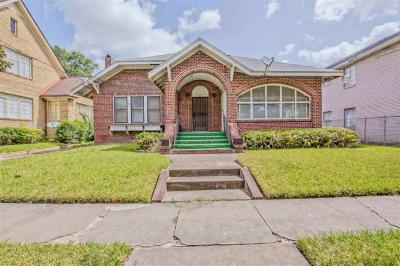 Houston Single Family Home For Sale: 1611 Wentworth Street