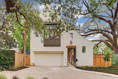 Houston Single Family Home For Sale: 2607 Yupon Street