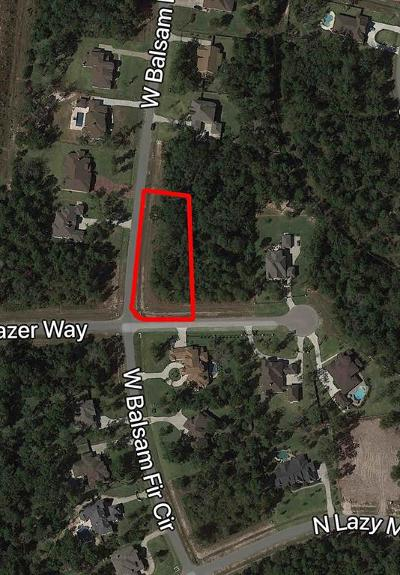 Spring Residential Lots & Land For Sale: 27053 Star Gazer Way