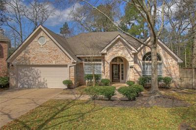 The Woodlands TX Single Family Home Option Pending: $289,000