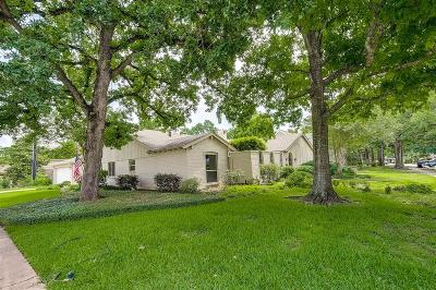Houston Single Family Home For Sale: 10626 Deerwood Road