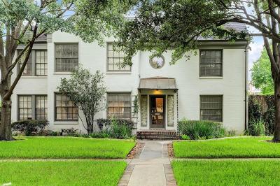 Houston Single Family Home For Sale: 1732 Lexington Street