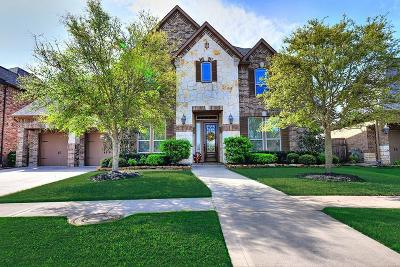 Fulshear Single Family Home For Sale: 27715 Wimberly Falls Lane