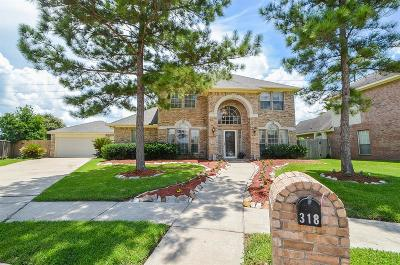 Fort Bend County Single Family Home For Sale: 318 Saunter Drive