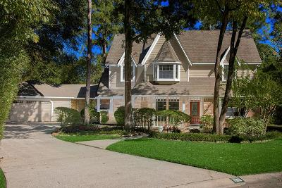 The Woodlands Single Family Home For Sale: 139 Towering Pines Drive