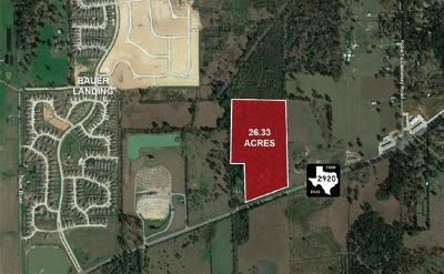 Hockley Farm & Ranch For Sale: 22310 Fm 2920 Road