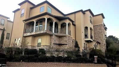Houston Condo/Townhouse For Sale: 3808 Glen Arbor Drive