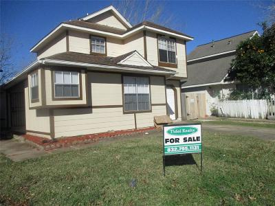Missouri City Single Family Home For Sale: 7730 Sign