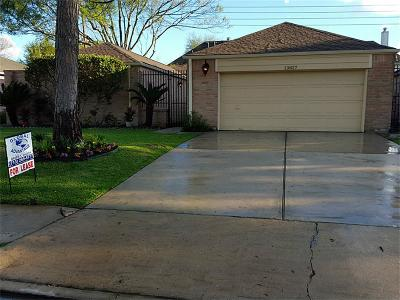 Houston Single Family Home For Sale: 13827 Swiss Hill Drive