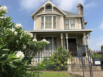 Galveston Single Family Home For Sale: 1919 37th Street