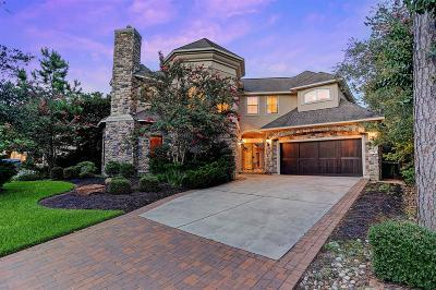 The Woodlands TX Single Family Home For Sale: $829,000