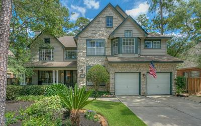 The Woodlands Single Family Home For Sale: 18 Candle Pine Place