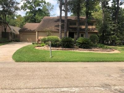 The Woodlands Single Family Home For Sale: 70 Huntsmans Horn Circle