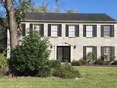 Friendswood Single Family Home For Sale: 208 E Castle Harbour Drive
