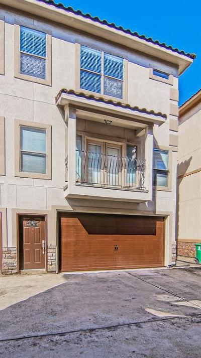 Houston TX Condo/Townhouse For Sale: $299,000