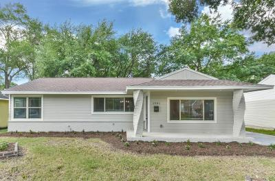 Galveston County, Harris County Single Family Home For Sale: 1901 Wakefield Drive