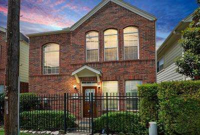 Houston Single Family Home For Sale: 1757 Aden Drive