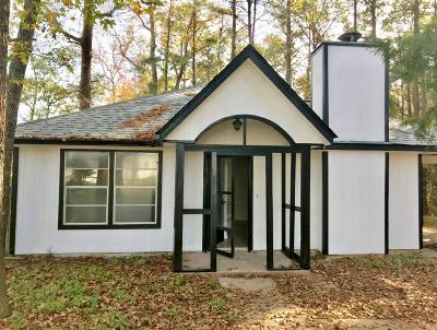 Willis Single Family Home For Sale: 12250 Hilltop Drive