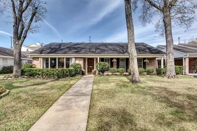 Houston Single Family Home For Sale: 6224 Overbrook Lane