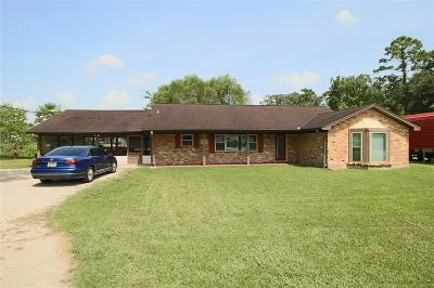 Huffman Single Family Home For Sale: 25916 Fm 2100 Road