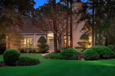 The Woodlands Single Family Home For Sale: 67 Cascade Springs Place