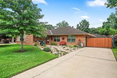 Timbergrove Manor Single Family Home For Sale: 6739 Kury Lane