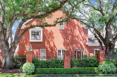 Afton Oaks Condo/Townhouse For Sale: 2902 West Lane #H