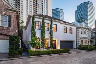 Houston Single Family Home For Sale: 45 Wynden Oaks Drive