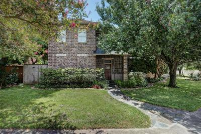 West University Place Single Family Home For Sale: 4151 Bissonnet Street
