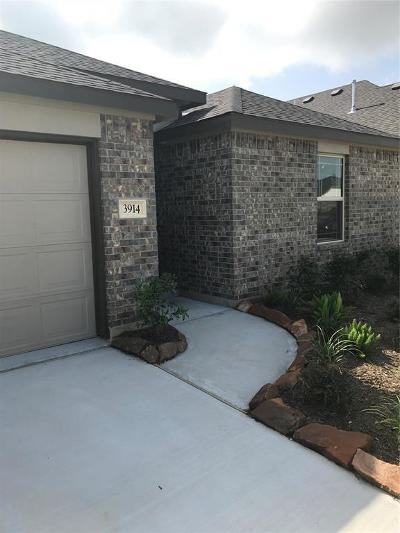 Katy Single Family Home For Sale: 3914 Marble Vista Way