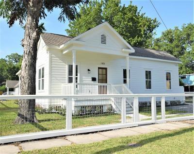 Houston Single Family Home For Sale: 1303 Summer Street Street