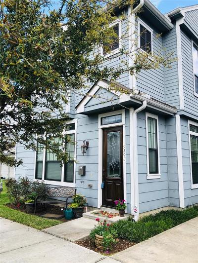 Houston Single Family Home For Sale: 920 Lawrence Street #D