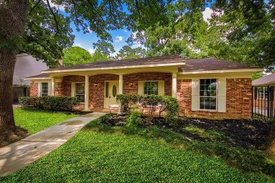 Houston Single Family Home For Sale: 714 Langwood Drive