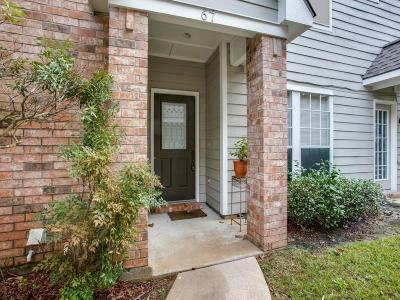 The Woodlands Condo/Townhouse For Sale: 67 S Spiral Vine Circle
